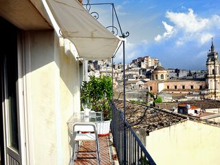 Modica house photo - Panoramic balcony