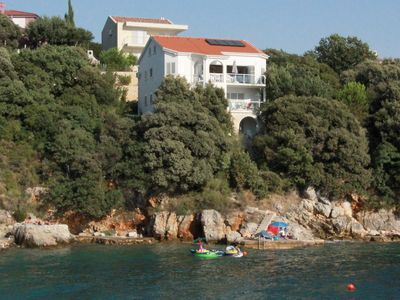 Seaside villa, private swimming area, WiFi, sandy beach, child-friendly - Apartment 2