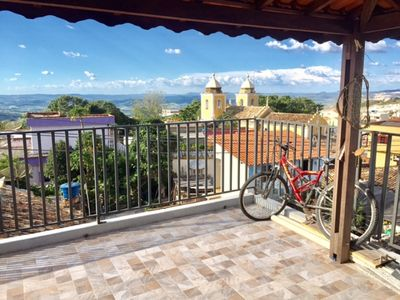 House with beautiful view in the historical center of São Thomé.