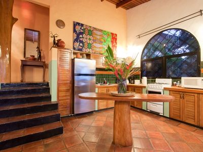 Fully Equipped Kitchen at Casa Azul