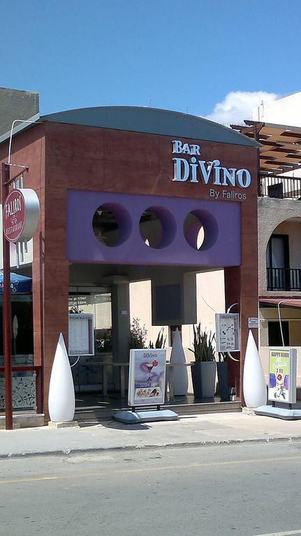 Bar Divino - Stylish Modern Bar in Kapparis