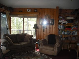 Hill City cabin photo - Upper level living area