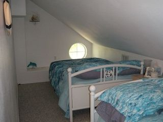 Corpus Christi house photo - Upstairs bedroom with two full beds