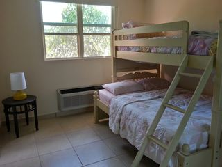 Aguadilla apartment photo - The second bedroom has a bunkbed with a full bed at bottom and twin bed on top.