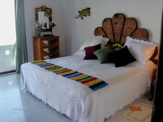 Guest suite with king size bed that convert to two twins. - Bucerias townhome vacation rental photo