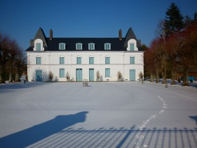 new snow fall at Chateau Jonquay