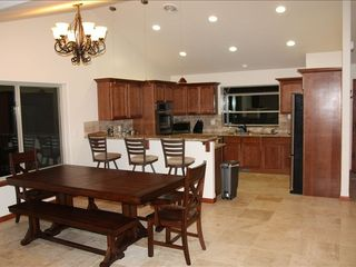 Montgomery Estates house photo - Expansive kitchen with all the accessories