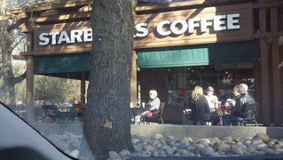 Sacramento estate photo - Starbucks near by with great outdoor seating