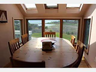 Chappaquiddick house photo - View from dining area