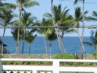 Kahaluu house rental - View to horizon