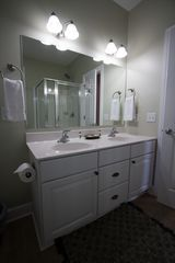 Folly Beach townhome photo - Master bathroom double-sink vanity