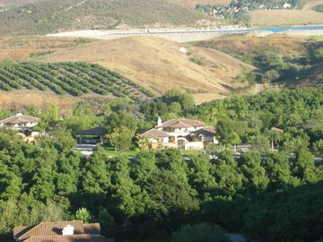 Simi Valley house rental - The Ranch from the top of one of our hills