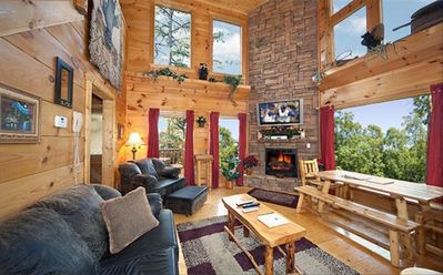 Main Floor with windows throughout to capture beautiful mountain view.