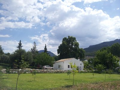 country  house with private  garden AndaluciaNatural Park Sierra Grazalema