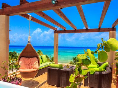Presidential ocean view penthouse by bric vrbo for The elements playa del carmen