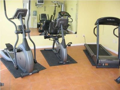 Leeward Key also has an exercise room for your use