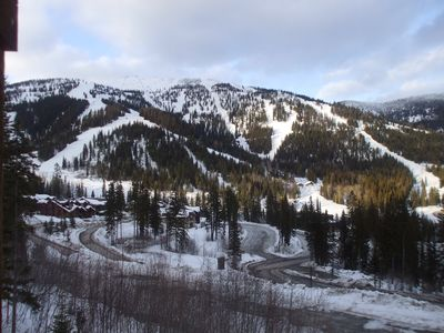 Ski down to the base lodge on Homeagain/300' from your front door!