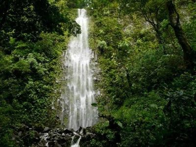Waterfall near Jaco