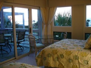 Seabrook Island condo photo - Ocean view at sunrise from master bedroom