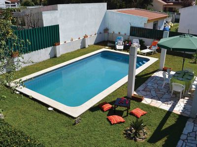 Sesimbra - villa with salt water pool without chlorine electrolysis system