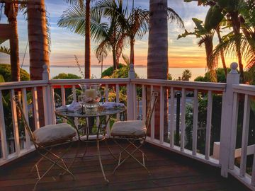 Summerland house rental - Ocean View Deck - Victorian charm and unbelievable views come together here!