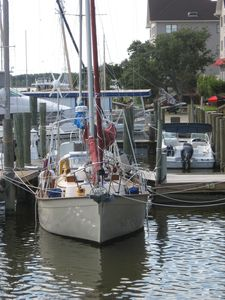 Manteo Harbor -- Steps from  The Baum House front door