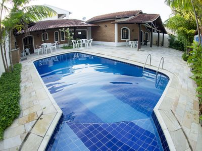 House 4 Bedrooms with pool 30 meters from the beach - 2 suites