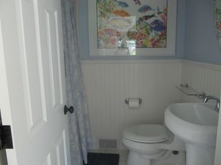 Harwich - Harwichport house photo - This third bathroom has a roomy shower and is picture perfect and new.