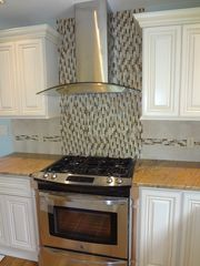 Harwich - Harwichport house photo - Modern Kitchen with Beautiful Tile Design