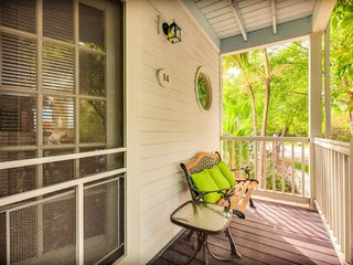 Key West house photo - The front porch is perfect for some quiet time.