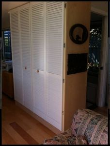 What Fun - a Murphy bed so comfortable you'll languish here looking out at Bay