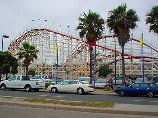 La Jolla house photo - Belmont Park Roller Coaster just down the road...on the beach in Mission Beach.