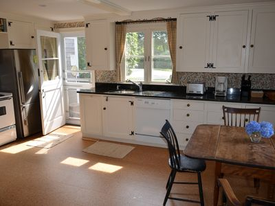 Chatham estate rental - Our moderized country kitchen.
