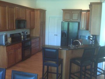Fully Equipped Kitchen with Bar
