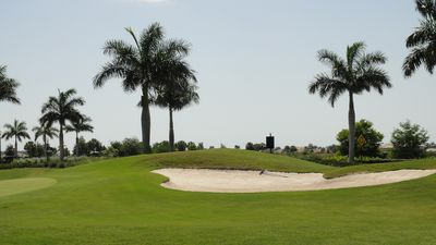 Heritage Bay condo rental - The great golf course, hole #27!