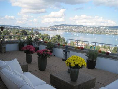 Unforgettable views over the Zürchersee and wonderful relaxing area for you