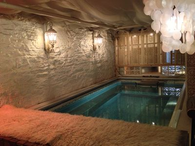 Indoor Heated Wave Pool and Spa