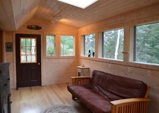 Lake Placid cabin photo - Sun Room with Futon