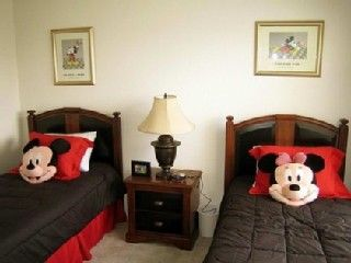 Kids Room w/ Mickey Mouse Theme
