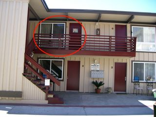 Mission Beach condo photo - We are unit 5 in a remodelled 6 unit building