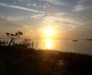 Captiva Island condo rental - Sunrise taken from Living Room Dining Room
