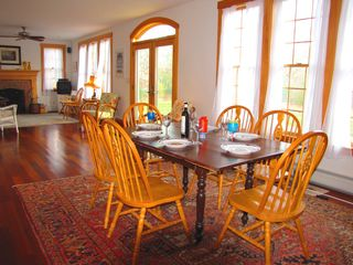 West Tisbury house photo - open floor plan, dining area