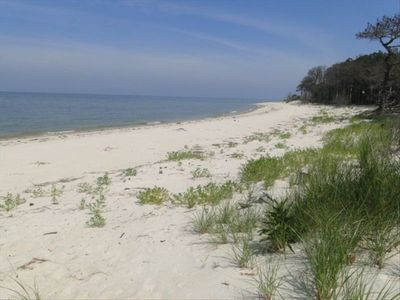 Your private beach perfect for swimming, kayaking, beachcombing