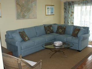 Tybee Island condo photo - You can relax in the living room, plenty of room to spread out to watch TV