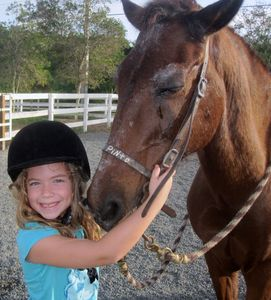 Everyone loves horseback riding at Palmas!