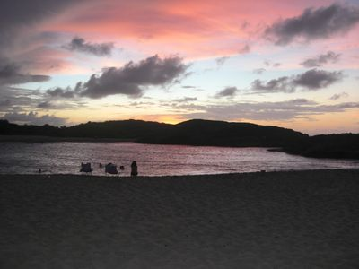 Manati apartment rental - Sunset at Mar Chiquita Beach
