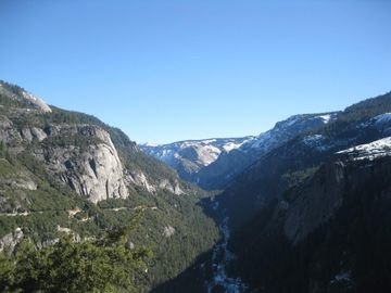 Groveland house rental - view of Yosemite Valley as you drive in from the entrance gate