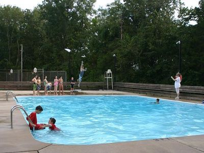 Pool is open from April to October