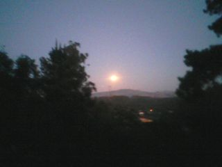 Monterey house photo - Watch the moon come up at your back door right over the town of Prunedale...