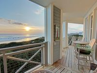 Spacious Porch with Dazzling Gulf Views! 318C at The Crossings of WaterSound Beach 30A